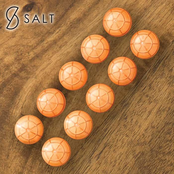 10-Pack Of Pepper Spray Rounds - For SALT Self Defense Pepper Spray Gun