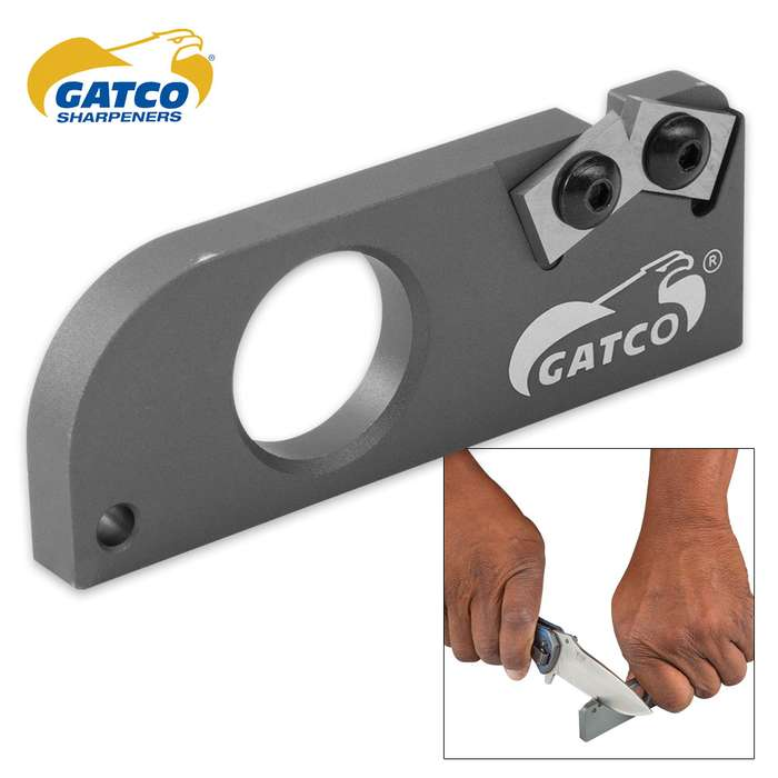 Bear & Son Gatco MCS Military Carbide Knife Sharpener
