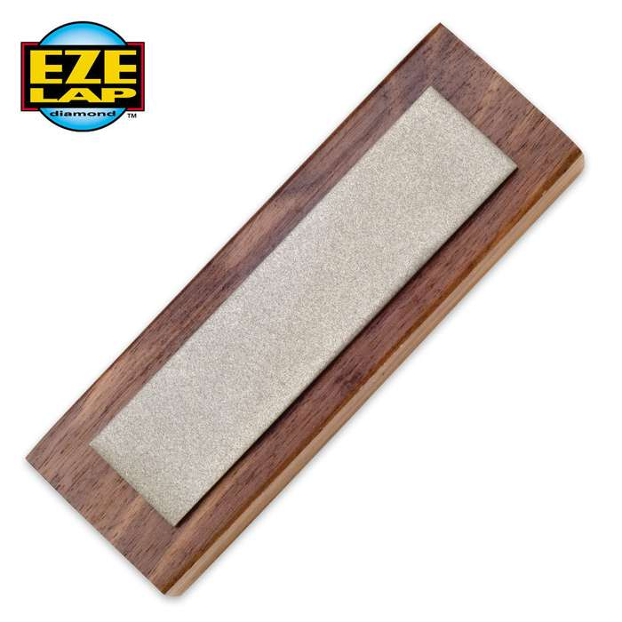 "Eze Lap 1"" X 4"" Walnut Block Hone"