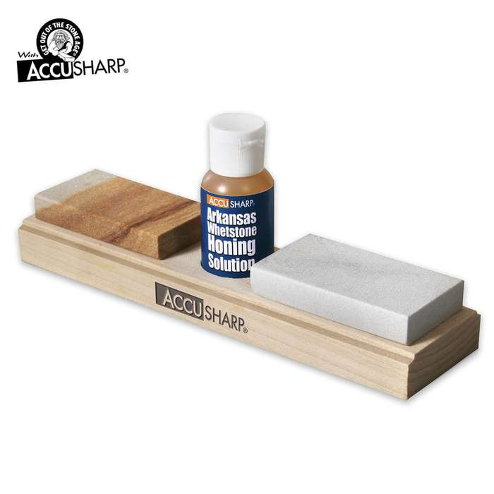 AccuSharp Combo Stones with Honing Oil