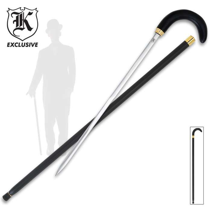 Traditional Hook Sword Cane