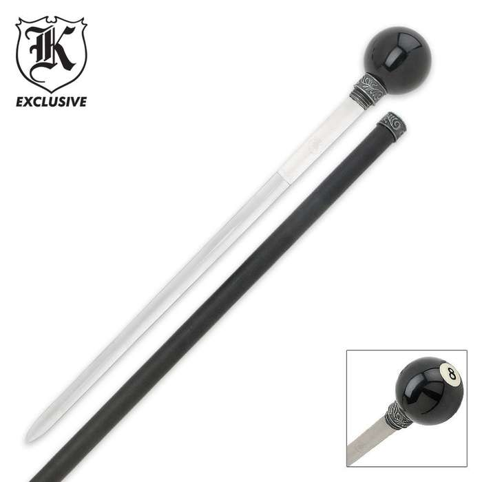 Eight Ball Self Defense Sword Cane