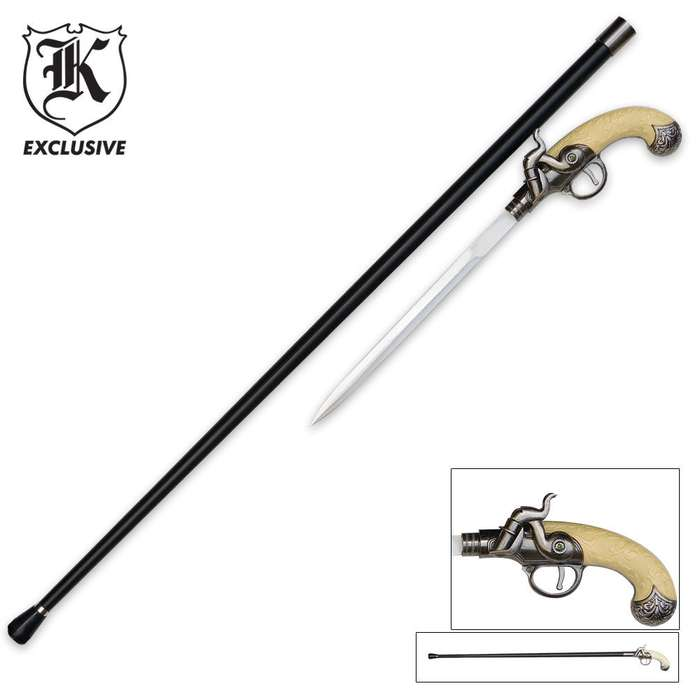 Pistol Sword Cane