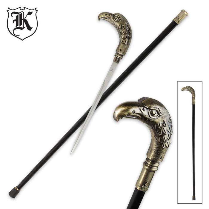 Regal Eagle Custom Sword Cane