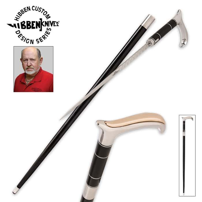Gil Hibben Old West Custom Sword Cane
