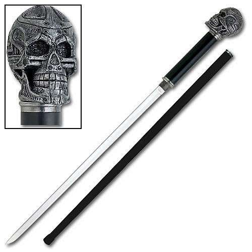 Android Skull Sword Cane