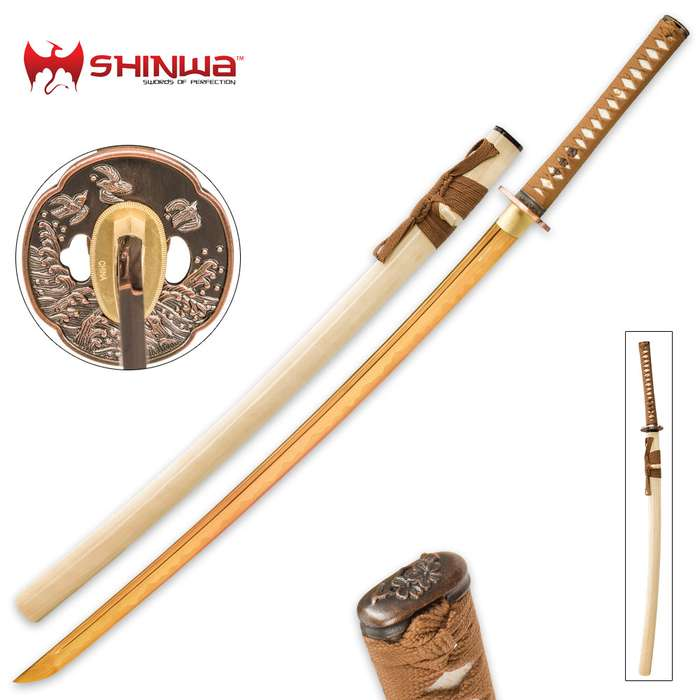 Shinwa Dark Espresso Samurai Sword