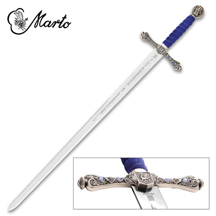 """This Sword of the Black Prince is a part of the exclusive collection, """"Historical, Fantastic and Legend Swords"""", made by MARTO"""