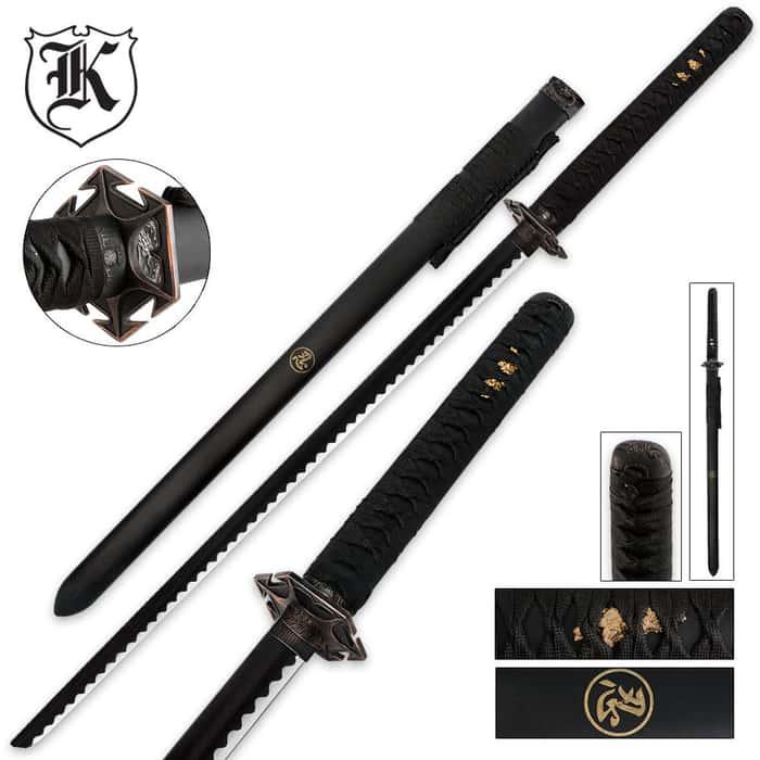 Black Ninjato Sword