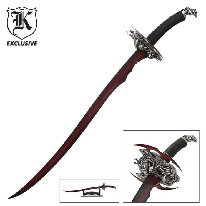 Red Dragon Scimitar Sword