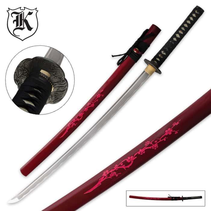 Blooming Cherry Katana Sword