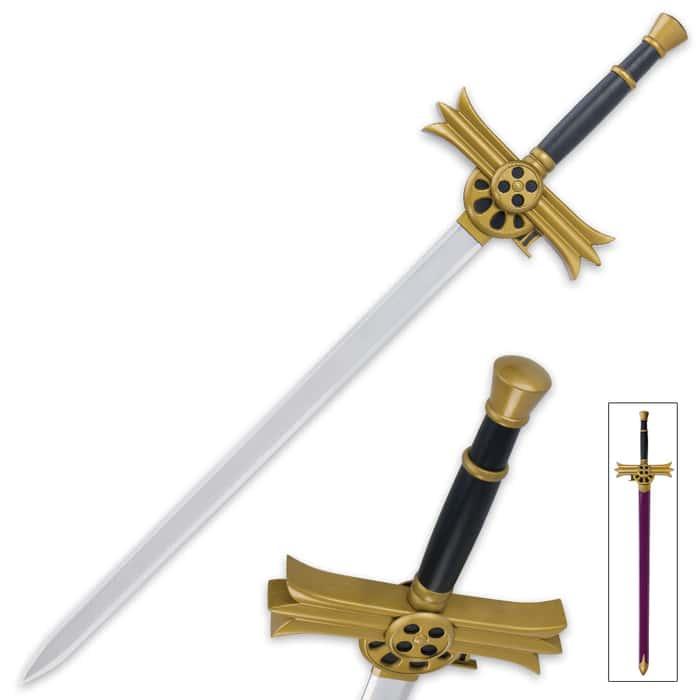 Mikaela Hyakuya Polished Steel Anime Sword