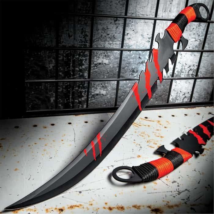 Spilled Blood Of The Fallen Fantasy Sword