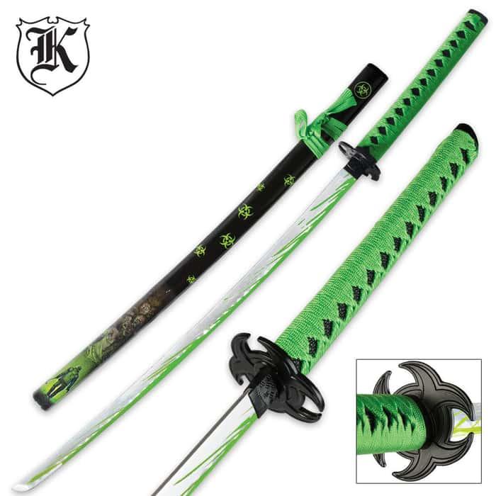 Undead Apocalypse Clawing Horde Katana Sword
