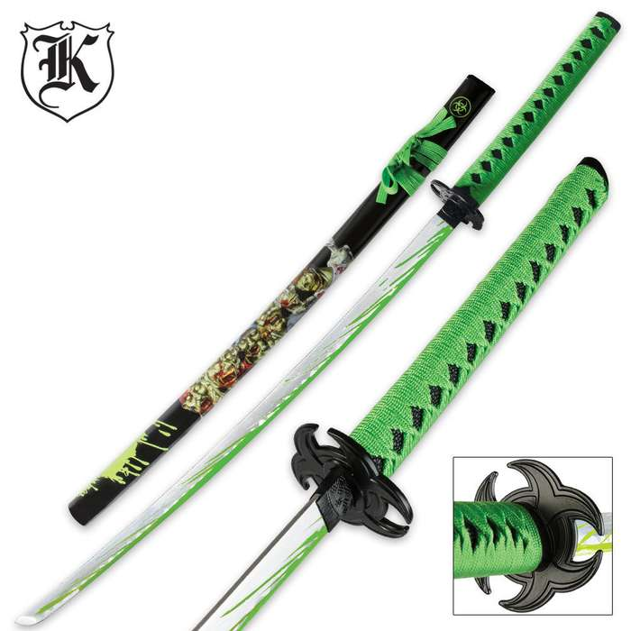 Undead Apocalypse Horde Splat Katana Sword