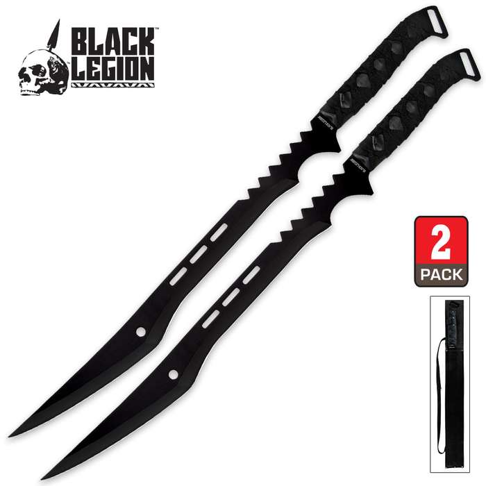 Twin Ninja Sword Set with Sheath