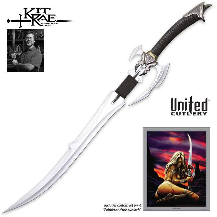 Kit Rae Avoloch Sword of Enethia