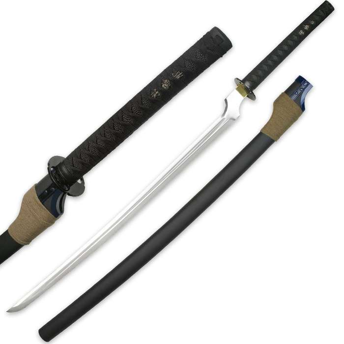 Anime Inspired Replica Blood Sword With Coordinating Scabbard