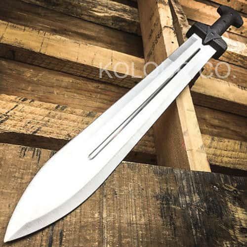 "24"" GLADIATOR GREEK Roman Dragon SWORD MACHETE Gladius Medieval w/ SHEATH"
