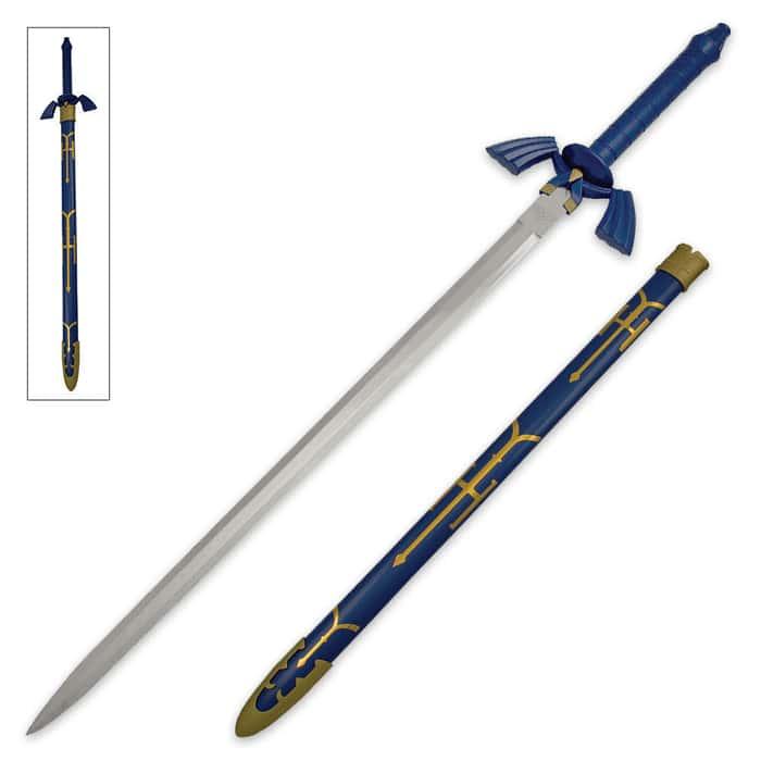 Zelda Triforce Master Sword Replica