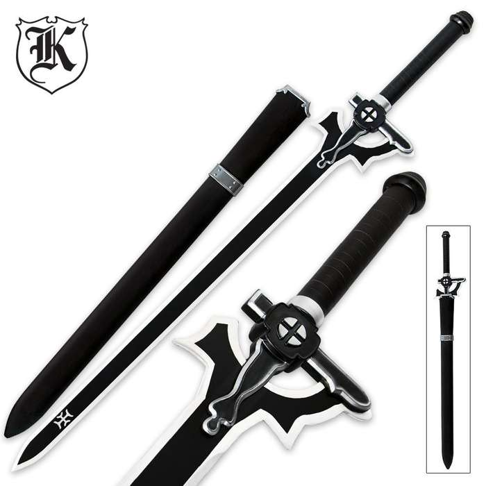 Anime Fantasy Sword With Scabbard