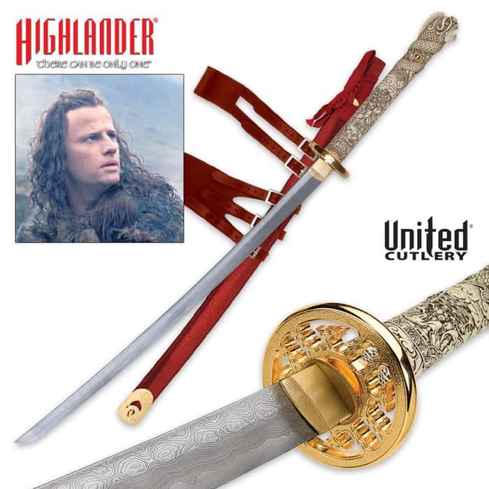 Connor MacLeod Katana Sword Damascus