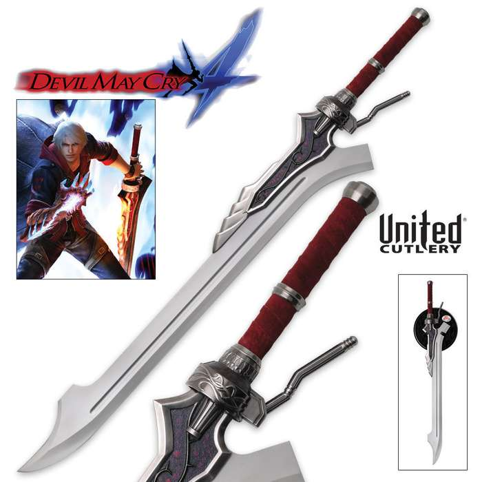 Devil May Cry Red Queen Sword of Nero