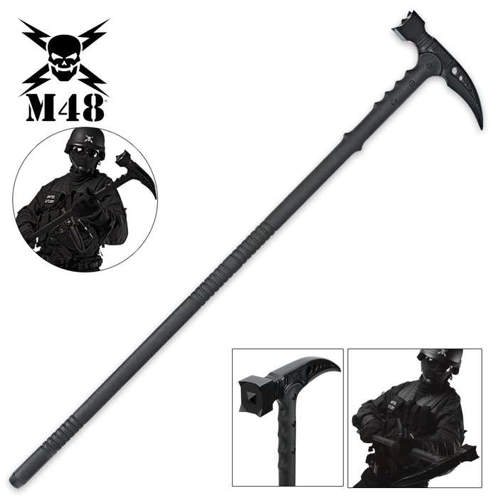 M48 Kommando Survival Hammer Tactical Hiking Staff
