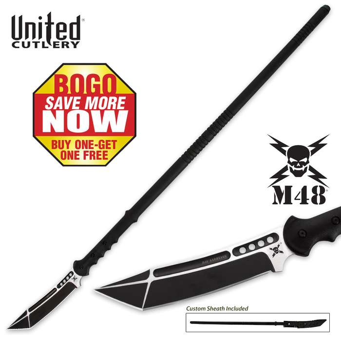 United Cutlery M48 Sabotage Survival Spear BOGO