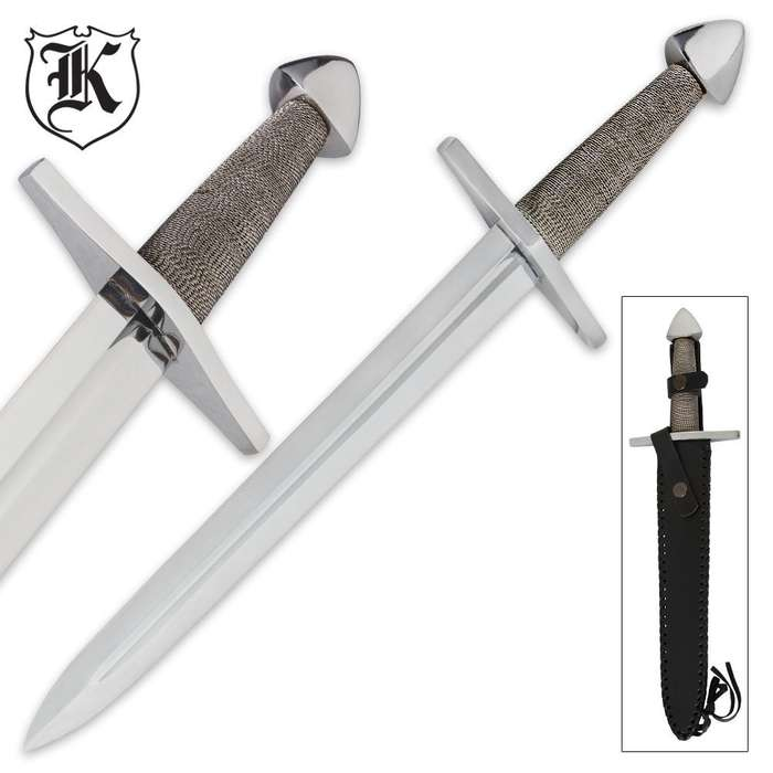 Wire Wrapped Handle Dagger
