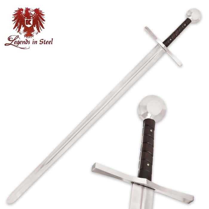 Legends In Steel Battle Ready Crusader Sword