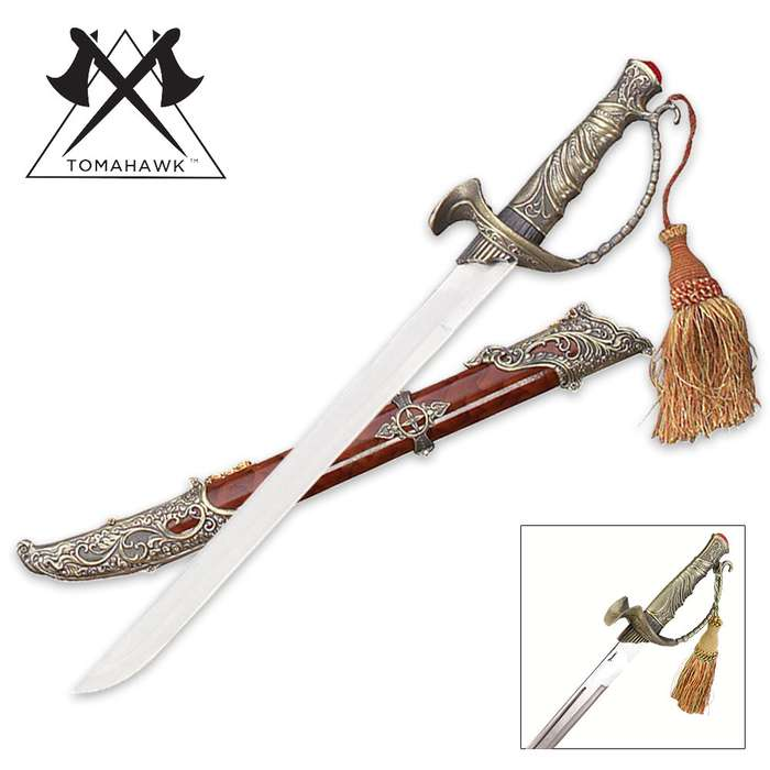 Pirate of the Caribbean Dress Short Sword