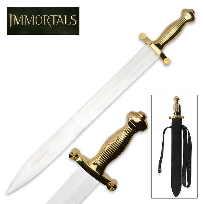 Immortals Theseus Sword With Scabbard