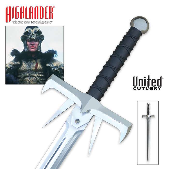 United Cutlery Highlander Kurgan Sword