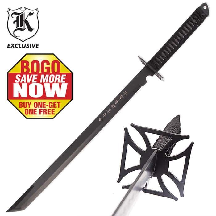 Chopper Katana Ninja Sword and Sheath 2 for 1