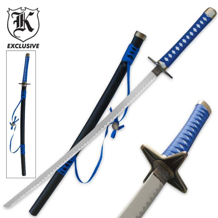 Blue Magic Anime Katana Sword