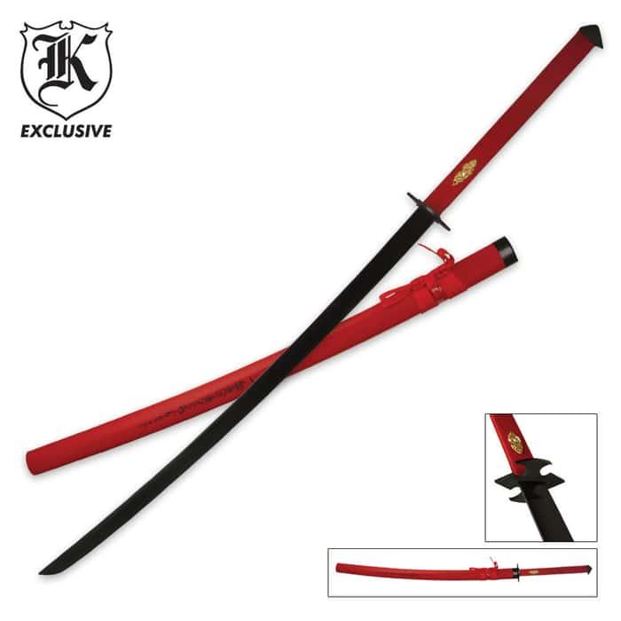 Crimson Emperor Katana
