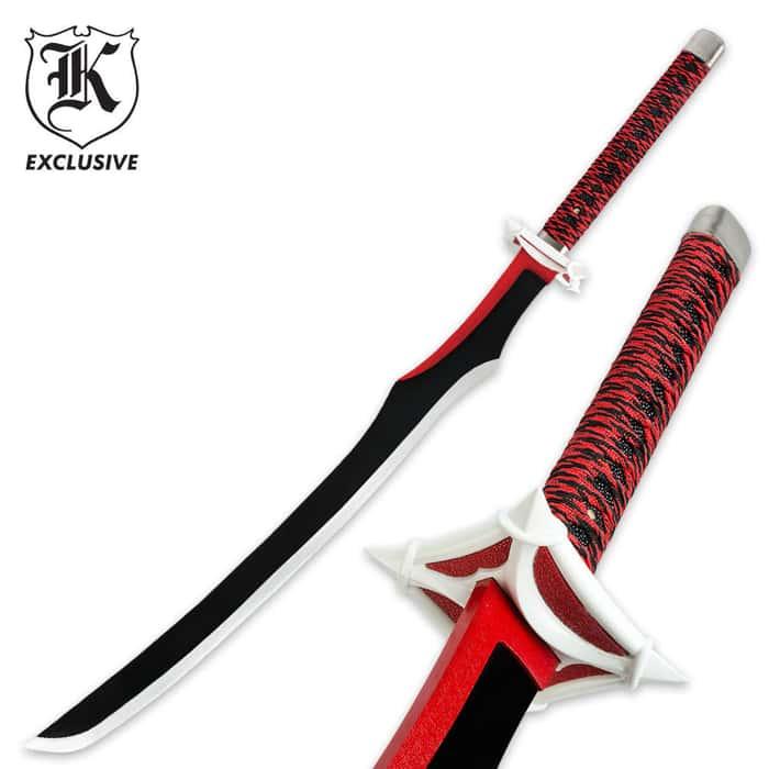 Red Reaper Fantasy Sword