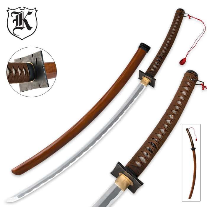 Carbon Steel Samurai Katanas Sword