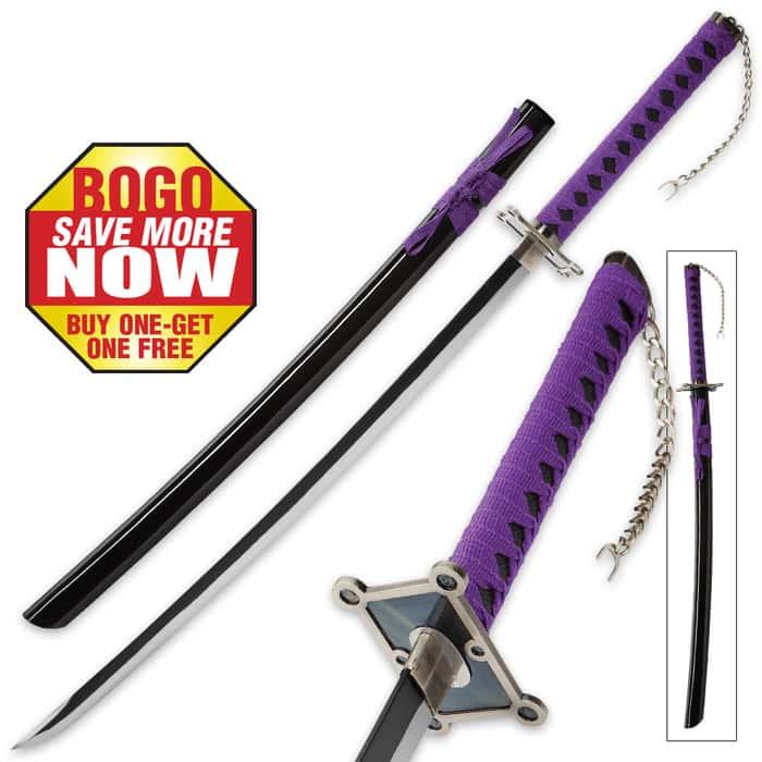 Purple Warrior Samurai Sword - BOGO