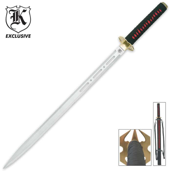 Red Galaxy Ninja Sword