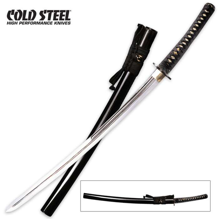 Cold Steel Double Edge Katana Sword