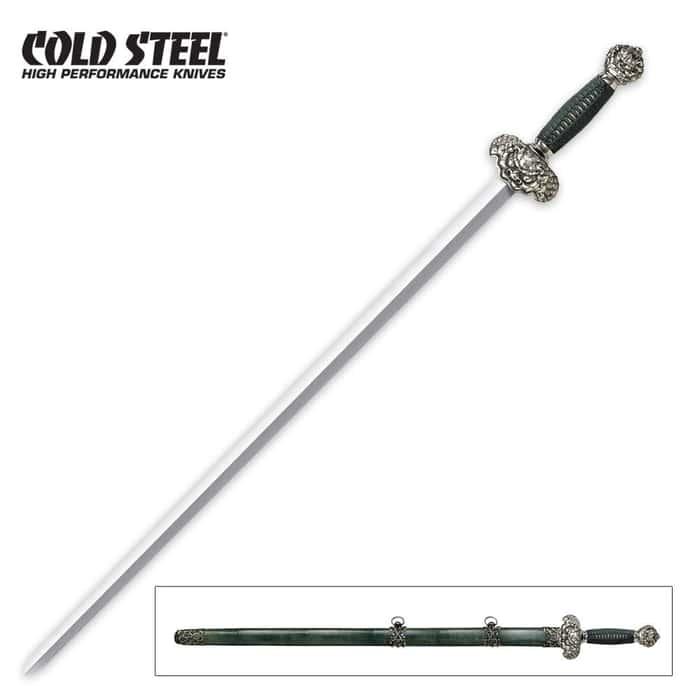 Cold Steel 88RLG Jade Lion Gim Sword
