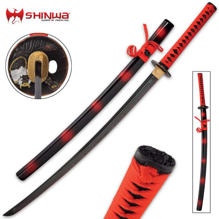 You know that unsurpassed quality is the standard for all Shinwa swords, and this katana is no exception to that standard