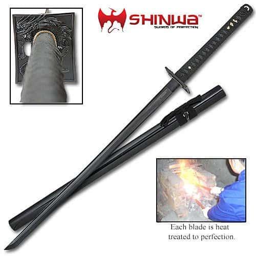 Shinwa Black Knight Katana Sword