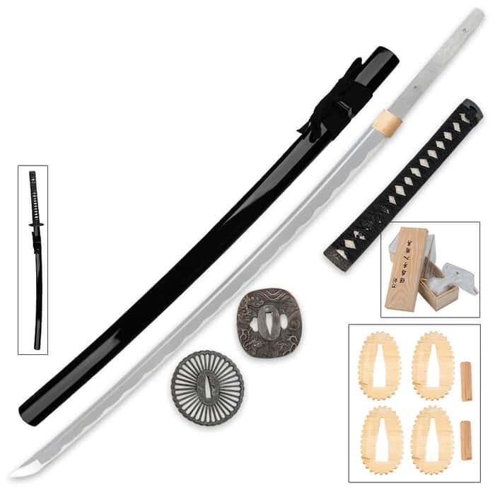 DIY Build A Katana Samurai Sword Set