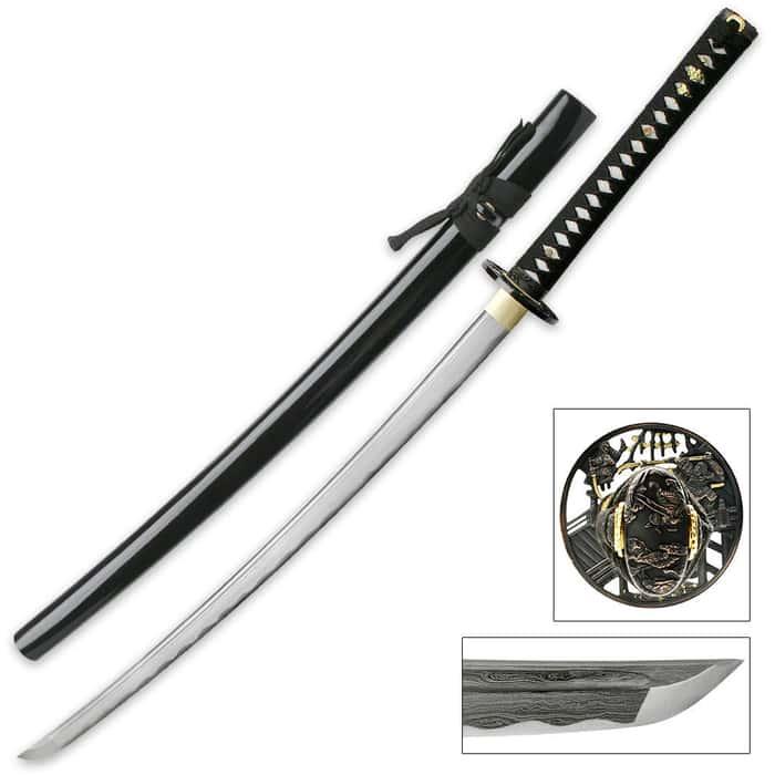 Hand Forged Masahiro Samurai Sword