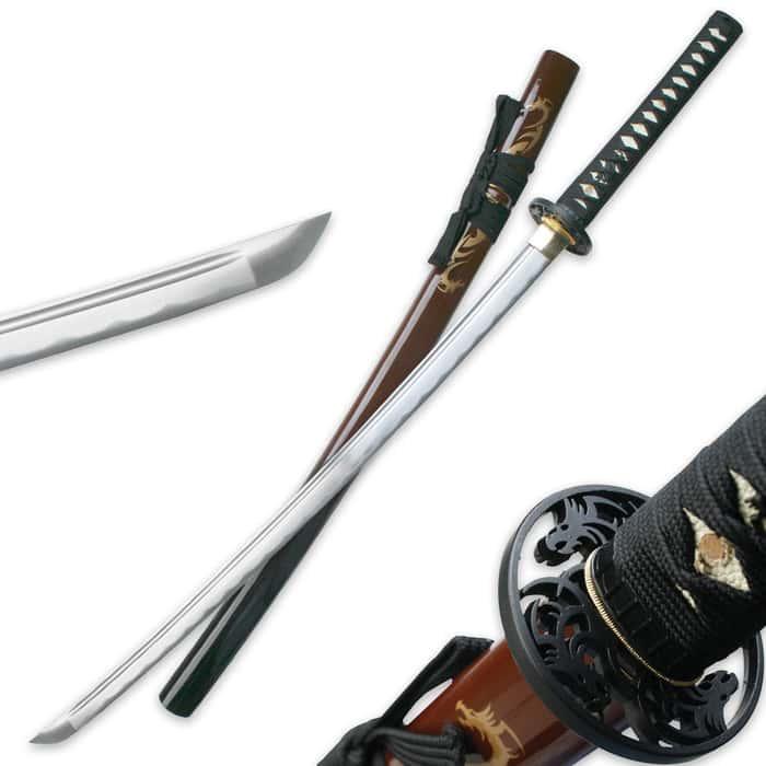 Ten Ryu Tribal Dragon Sword Red