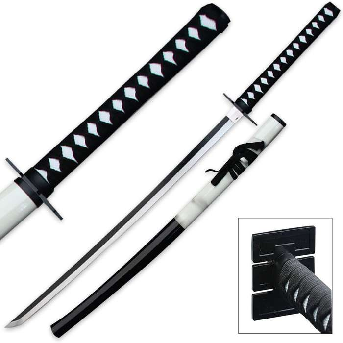 Midnight Samurai Sword with Matching Scabbard