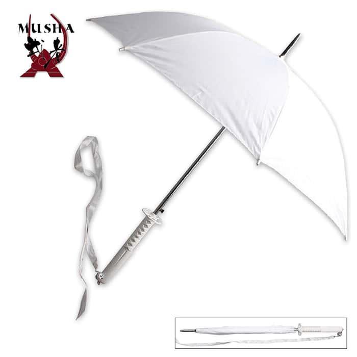 Jundo (Purity) Samurai Handle Umbrella